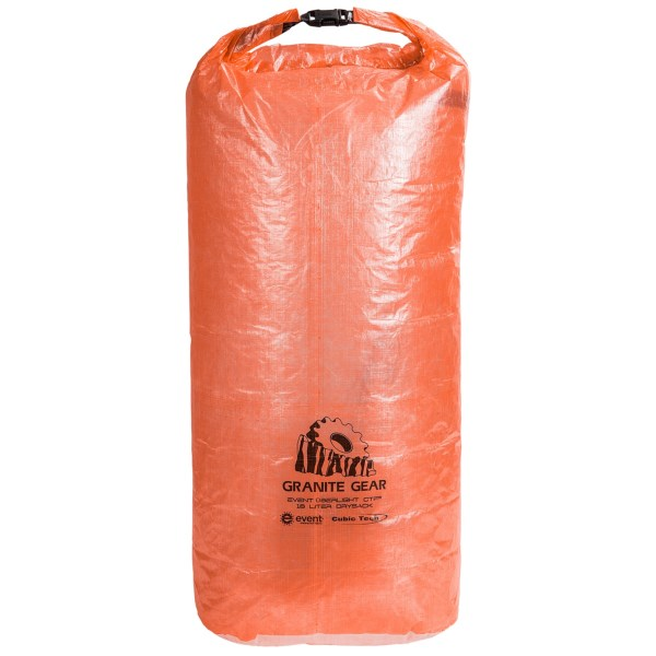 photo: Granite Gear eVent Sil Ultra-Duty Drysack dry bag