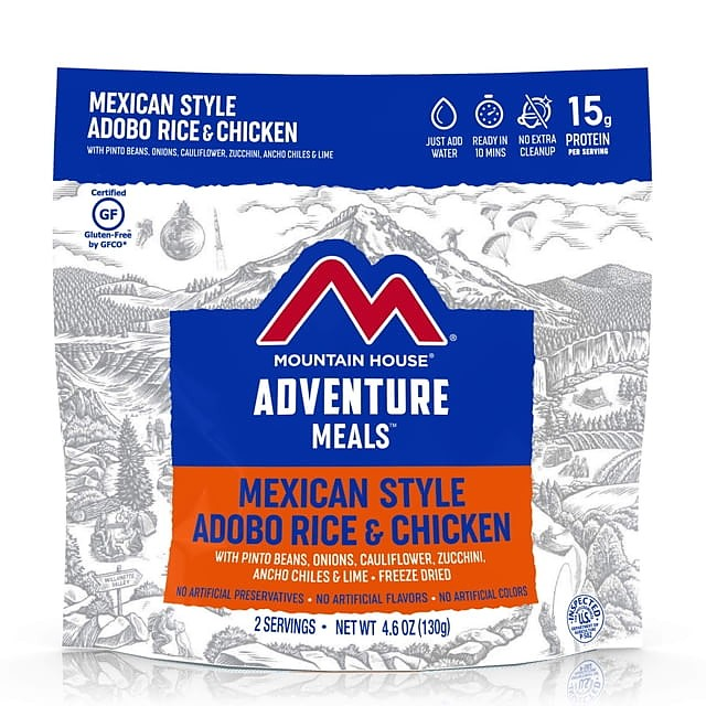photo: Mountain House Mexican Style Rice and Chicken meat entrée
