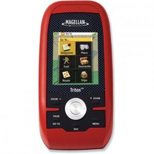 photo: Magellan Triton 500 handheld gps receiver