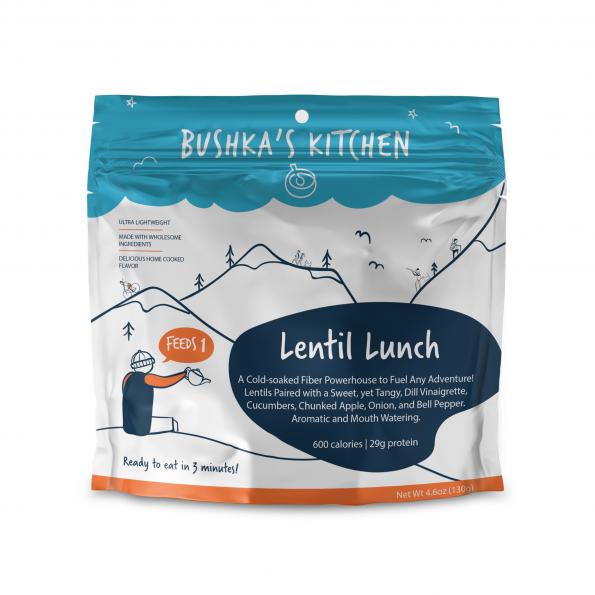 Bushka's Kitchen Lentil Lunch