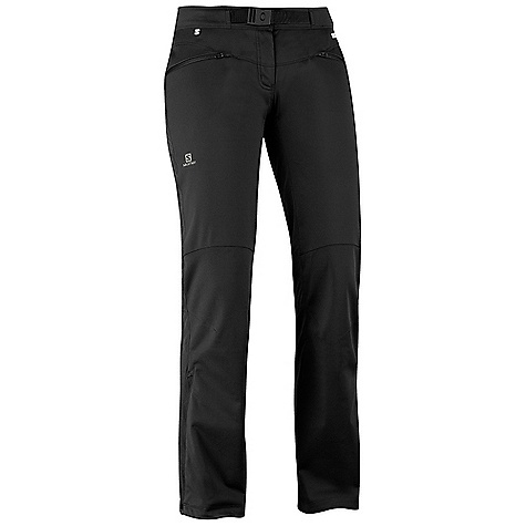 photo: Salomon Mont Baron WS Pant soft shell pant