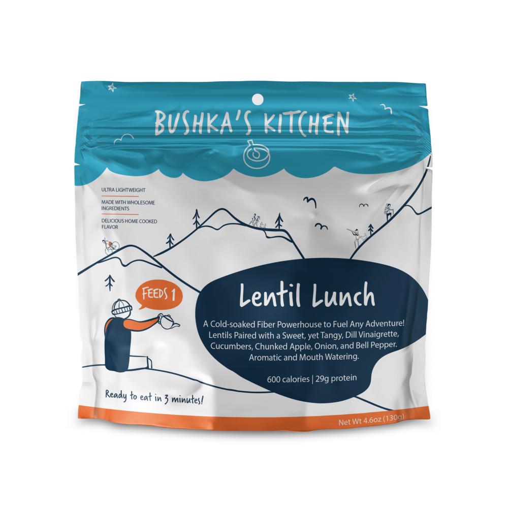 photo: Bushka's Kitchen Lentil Lunch vegetarian entrée