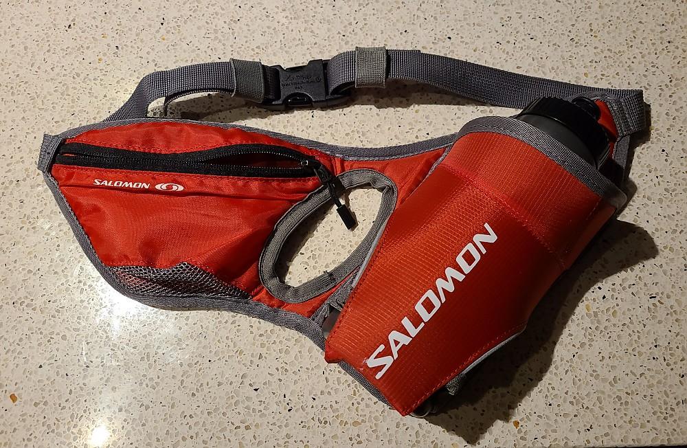 photo: Salomon Hydro 45 Belt lumbar/hip pack