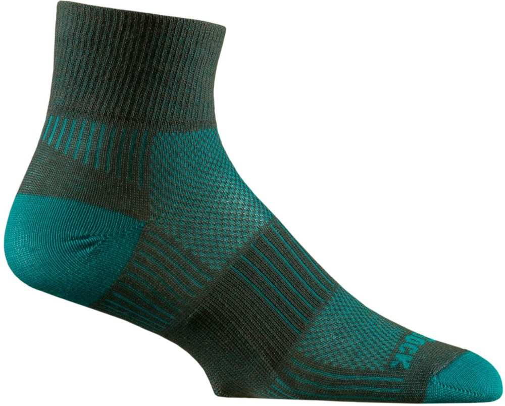 photo: WrightSock CoolMesh II Quarter Sock running sock