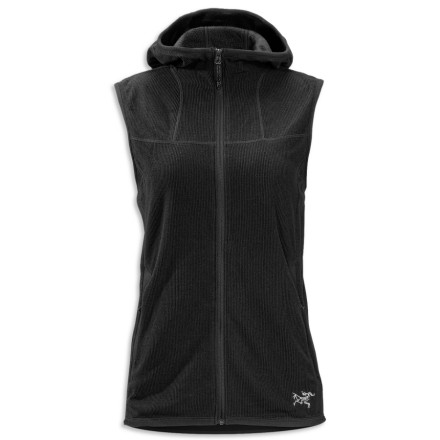 photo: Arc'teryx Caliber Hoody Vest fleece vest