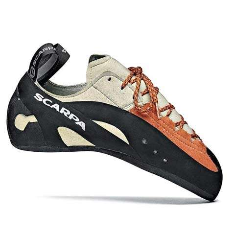 photo: Scarpa Spectro climbing shoe