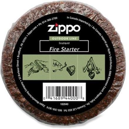 Zippo Campfire Starter Cedar Puck