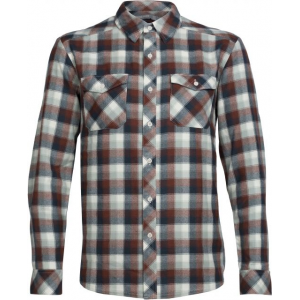 Icebreaker Lodge Long Sleeve Shirt Plaid