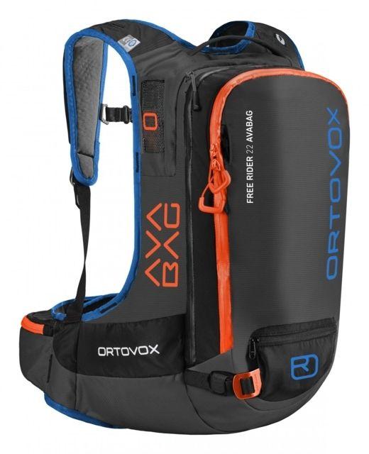 photo: Ortovox Free Rider 22 Avabag avalanche airbag pack