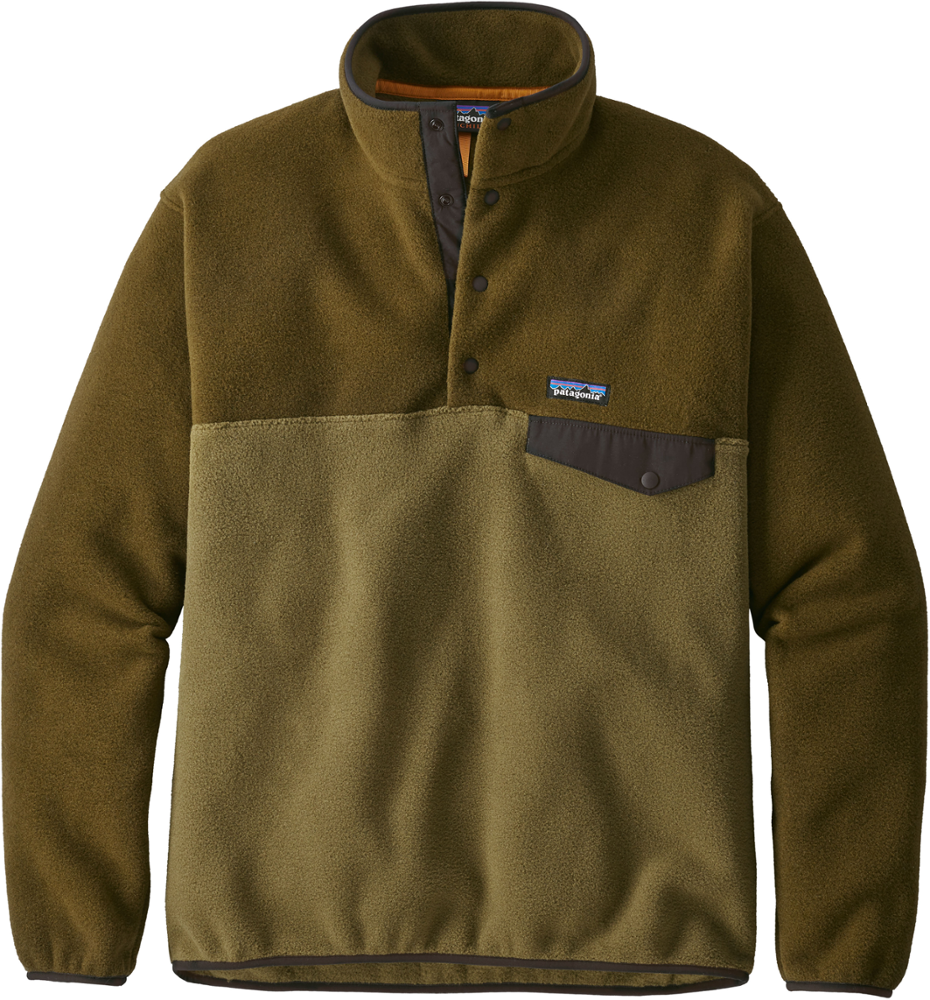 b4d375c4 photo: Patagonia Lightweight Synchilla Snap-T Pullover fleece jacket