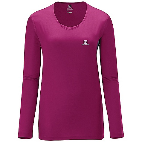 photo: Salomon Trail Long Sleeve Tee long sleeve performance top