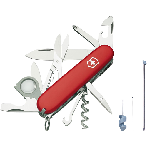 photo: Victorinox Swiss Army Explorer Plus multi-tool