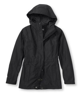 L.L.Bean H2Off Rain Jacket, Mesh-Lined