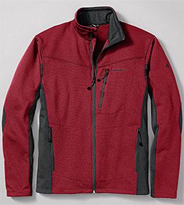 photo: Eddie Bauer First Ascent Hangfire Jacket fleece jacket