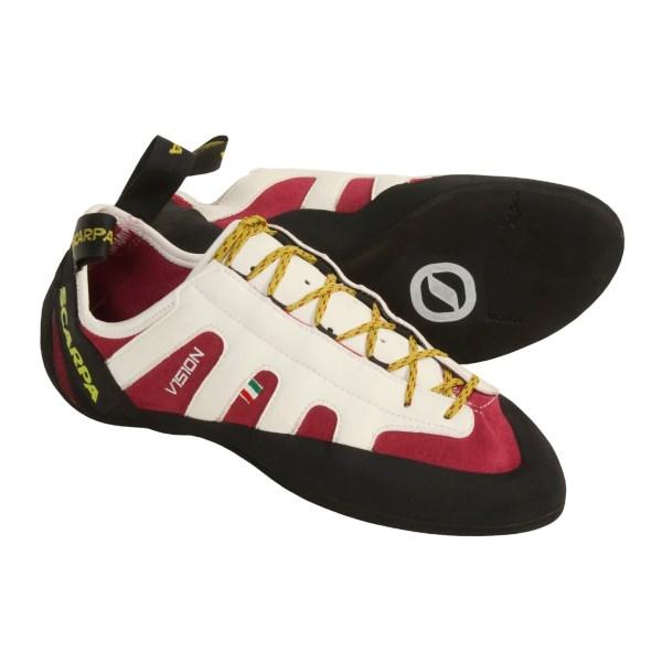 photo: Scarpa Vision climbing shoe