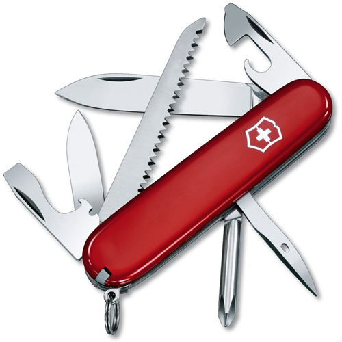 photo: Victorinox Swiss Army Hiker multi-tool