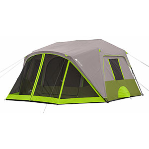 photo Ozark Trail 9 Person 2 Room Instant Cabin Tent with Screen Room warm weather  sc 1 st  Trailspace & Ozark Trail 9 Person 2 Room Instant Cabin Tent with Screen Room ...