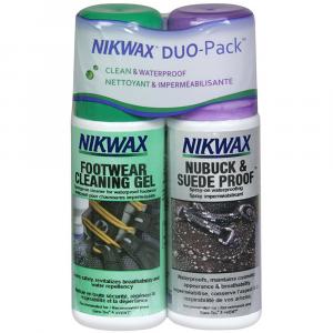 Nikwax Footwear DuoPack Nubuck & Suede