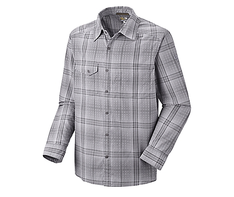 photo: Mountain Hardwear Hoffner L/S Shirt hiking shirt