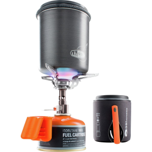 photo: GSI Outdoors Halulite Minimalist Complete liquid fuel stove