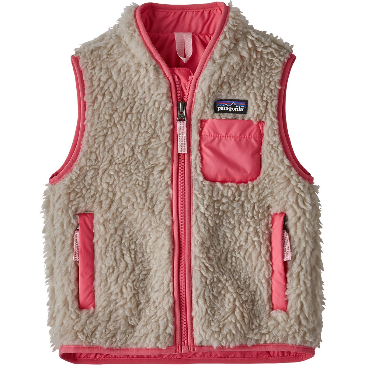 photo: Patagonia Girls' Retro-X Vest fleece vest
