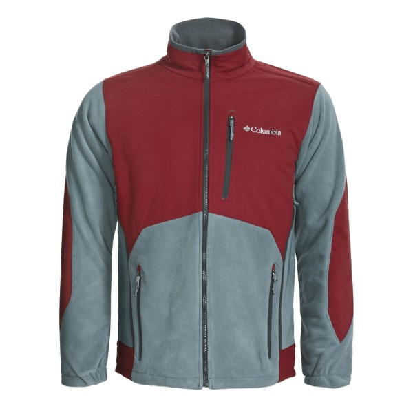 photo: Columbia Nordic Trekker Jacket fleece jacket