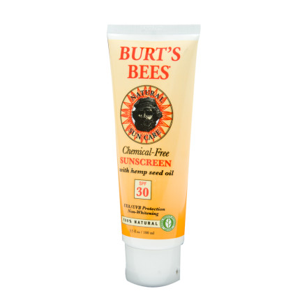 Burt's Bees Chemical-Free Sunscreen SPF 30
