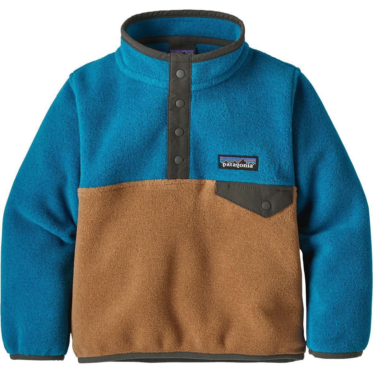 photo: Patagonia Kids' Lightweight Synchilla Snap-T Pullover fleece jacket