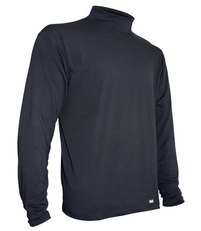 photo: Polarmax Xtrdry Cotton Mock TurtleNeck base layer top