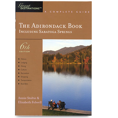 photo: Countryman Press The Adirondack Book us northeast guidebook