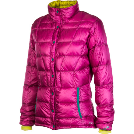 photo: Stoic Women's Hadron Down Cardigan down insulated jacket