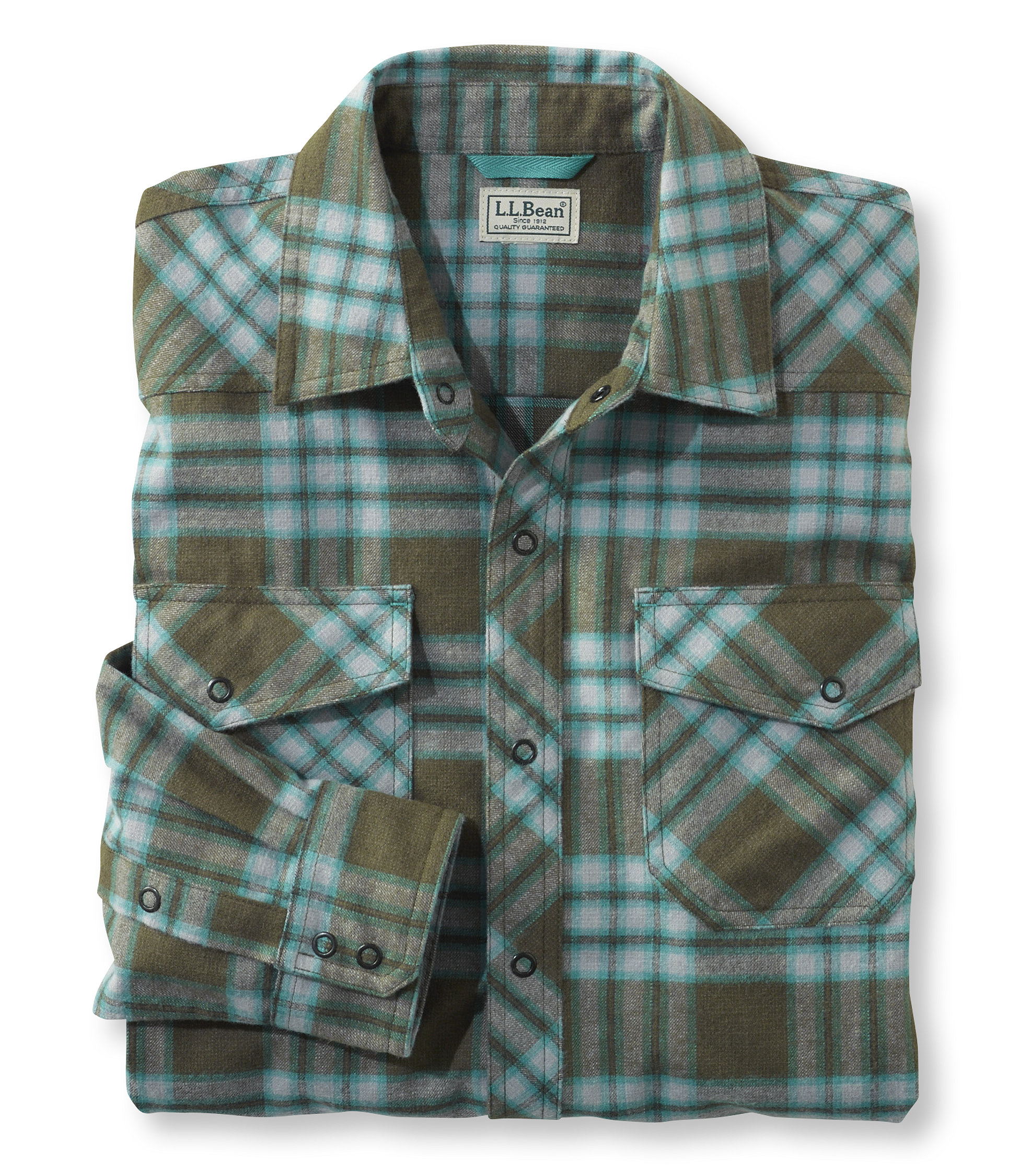 photo: L.L.Bean Overland Performance Flannel Shirt hiking shirt
