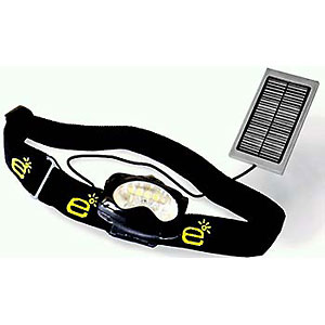 photo: Everlite Solar LED Headlamp EL8 headlamp