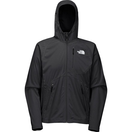 photo: The North Face Men's V10 Soft Shell Hoodie soft shell jacket
