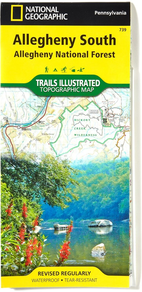 National Geographic Allegheny South: Allegheny National Forest