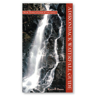 photo: Black Dome Press Adirondack Waterfall Guide: New York's Cool Cascades us northeast guidebook