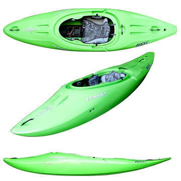 photo: Dagger Axiom 9.0 whitewater kayak