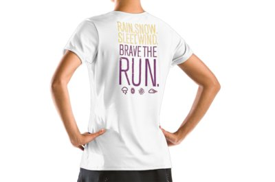 Under Armour Brave the Run Shortsleeve T Shirt