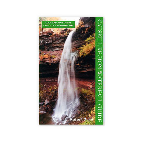 photo: Black Dome Press Catskill Region Waterfall Guide: Cool Cascades of the Catskills and Shawangunks us northeast guidebook
