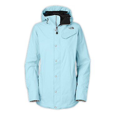 photo: The North Face Socializer Denim Jacket snowsport jacket