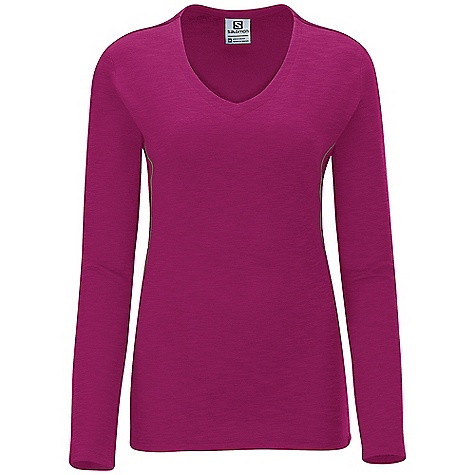 photo: Salomon Mountain LS Tee long sleeve performance top