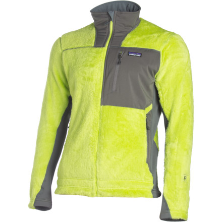 photo: Patagonia Men's R3 Hi-Loft Jacket fleece jacket