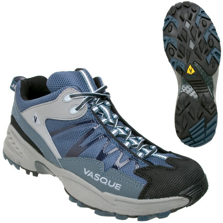 photo: Vasque Men's Velocity trail running shoe