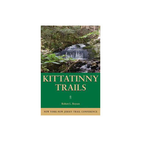 photo: NY-NJ Trail Conference Kittatinny Trails us northeast paper map