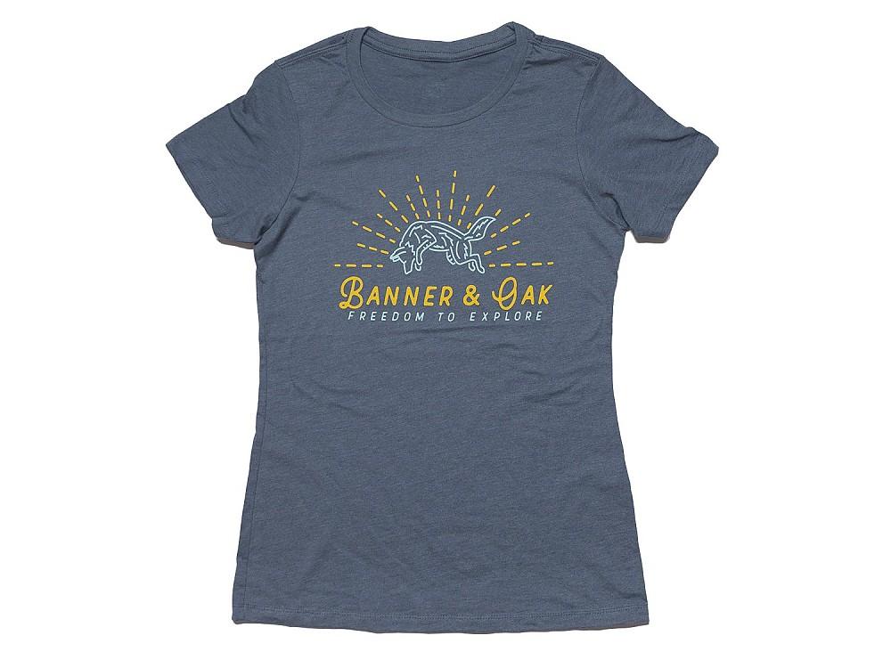 photo: Banner & Oak Coyote T-shirt short sleeve performance top