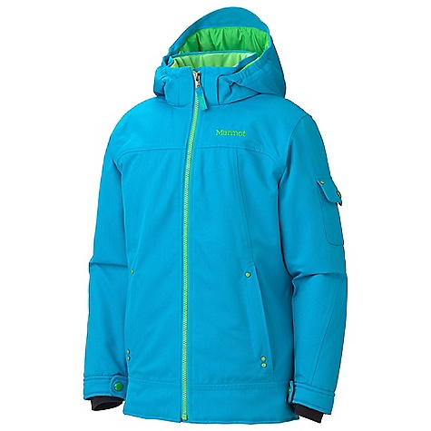 photo: Marmot Girls' Slopeside Jacket synthetic insulated jacket