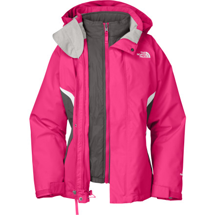 photo: The North Face Girls' Boundary TriClimate Jacket component (3-in-1) jacket