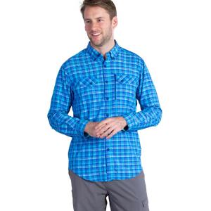 photo: ExOfficio Sol Cool Cryogen Long Sleeve Shirt hiking shirt