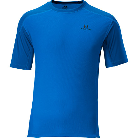 photo: Salomon Pace Contrast T short sleeve performance top