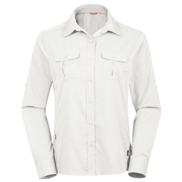 photo: The North Face Boulder Kassie LS Woven hiking shirt